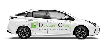 taxi to airport dynamic cars